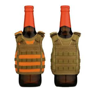 Vest Beer-Bottle-Cover Miniature Shoulder-Strap Military Molle Tactical Drink-Set Adjustable