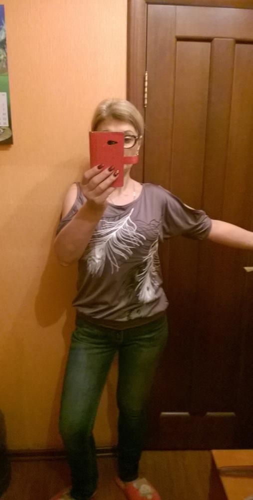 HTB1tT8uSXXXXXbUXXXXq6xXFXXXL - Summer Women Feather Printed T-shirts O- neck Strapless Shirts Off Shoulder