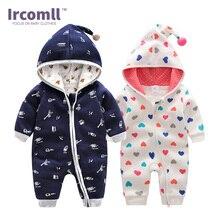 Ircomll новейшая Высококачественная детская одежда свитшоты с капюшоном хлопковые детские комбинезоны 2018 весенний Детский костюм на удачу