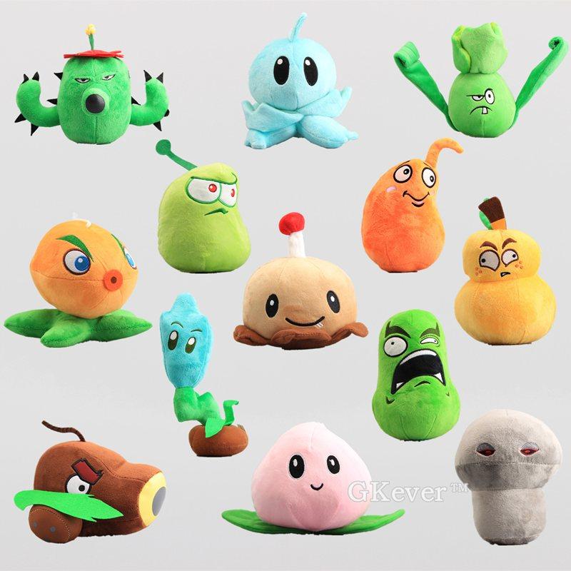 "2019 New hot Toy Plush Doll Cute Plants vs Zombies Wall-nut 6/"" Plush Toybirthday"