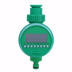 Jardim eletrônico automático display lcd sistema de controlador temporizador irrigação temporizador diy micro sistema irrigação por gotejamento