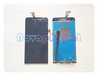 Novaphopat 100% Tested Black Touchscreen LCD for Explay 4Game LCD Display Touch Screen Digitizer Sensor Assembly Replacement