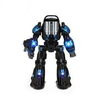 Rastar rc راديو التحكم لعبة روبوت رائد ل كبير الاطفال المشي جرار رفع الذراع صوت ضوء التصوير الرقص روبوت