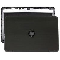جديد ل HP TPN-W121 17-X 17T-X 17-Y 17X 17Y 17-AY 17-BA 270G5 LCD الغطاء العلوي الخلفي حالة أسود/الإطار الأمامي 856585-001 856591-001