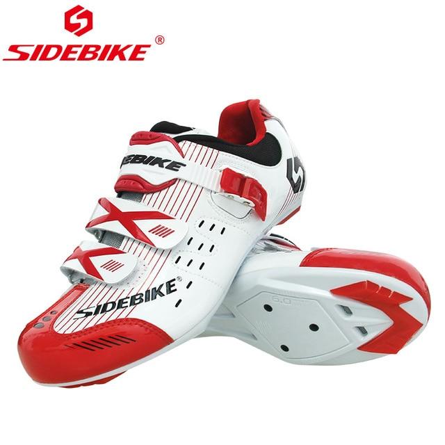 Sidebike calçado de ciclismo masculino, novo sapato esportivo antiderrapante e resistente para estrada e ciclismo ao ar livre sapatos com calçados 1