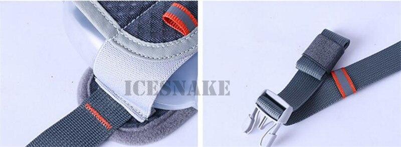 dwaterproof água jogging fanny pacote cintura com dois garrafa água 170ml