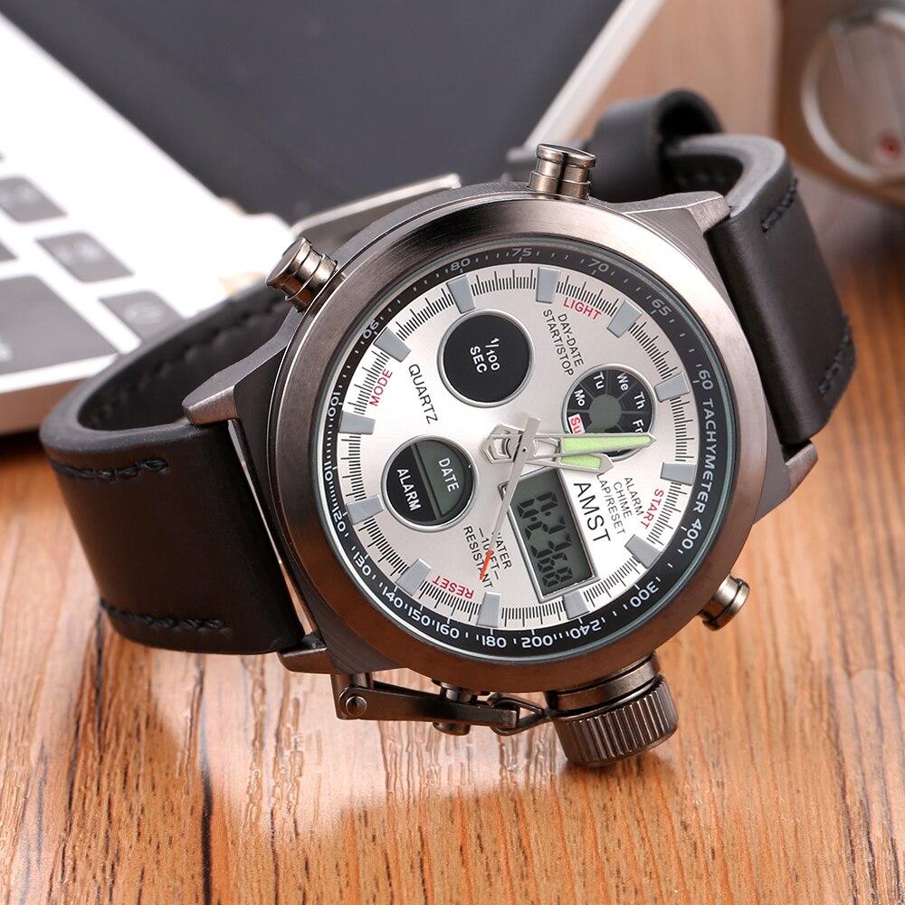 2020 novos relógios amst homens marca de