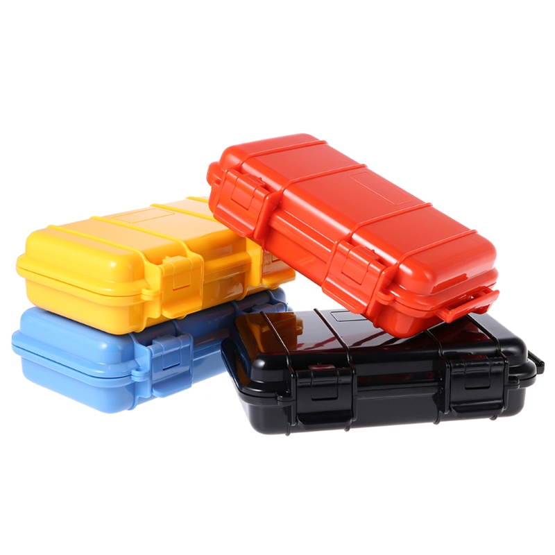 Camping EDC Shockproof Waterproof Box Safety Survival Aid Storage Case Container Survival Kit