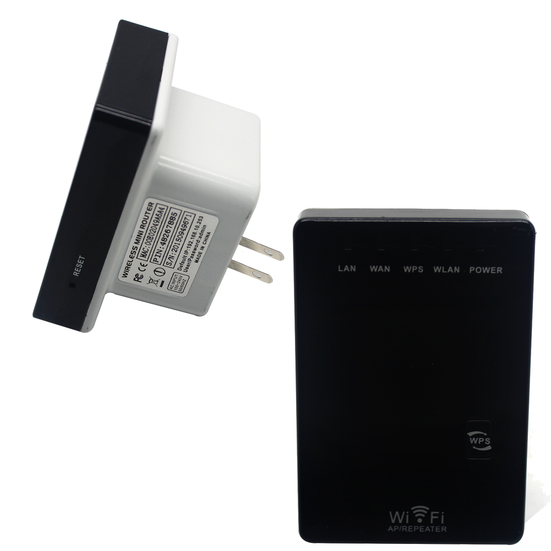NOYOKERE 300Mbps mini Wifi Repeater Wireless-N AP Range Extender 802.11N Booster Signal Amplifier wlan US