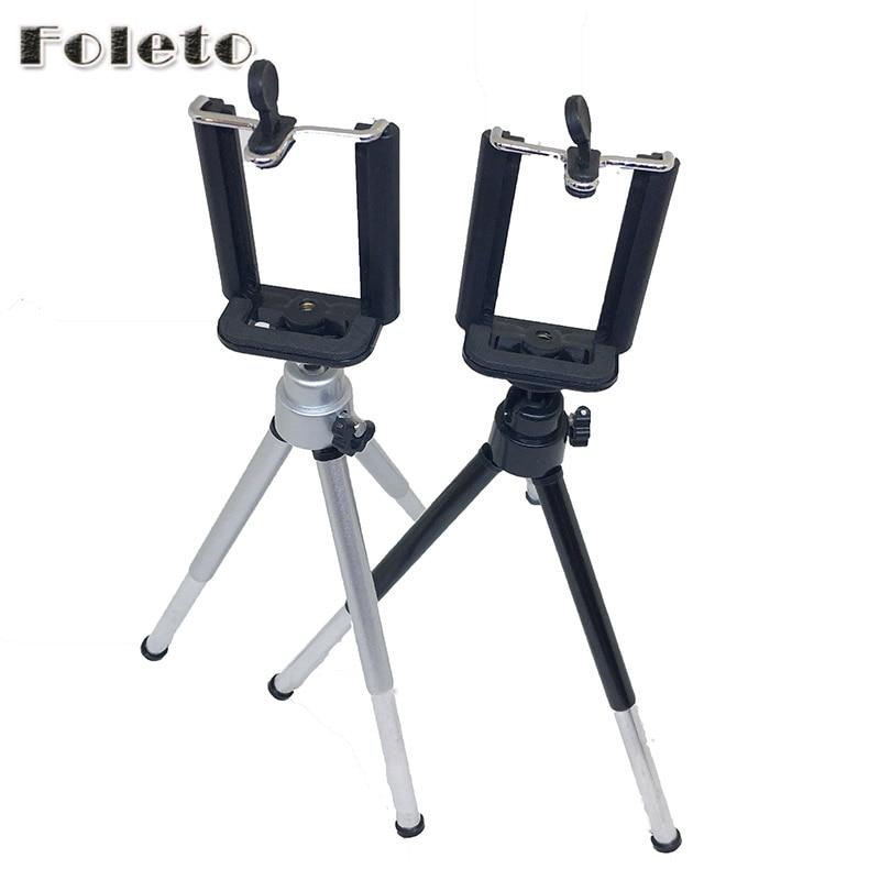 Foleto Mini font b Tripod b font Table Lightweight 1 4 Screw phone holder digtal camera