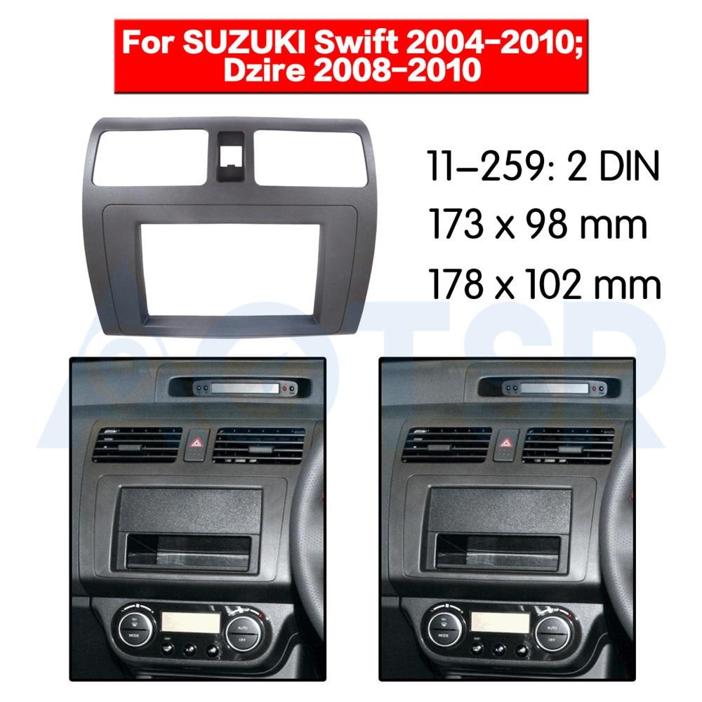 RB 281292-03 Façade Radio Façade Radio Installation cadre pour Suzuki Swift FZ//NZ