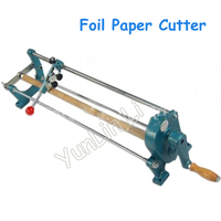 Free Shipping By DHL Foil Paper Vinyl Cutter Slitter Hot Stamping Roll Hand Cutting Machine Tool