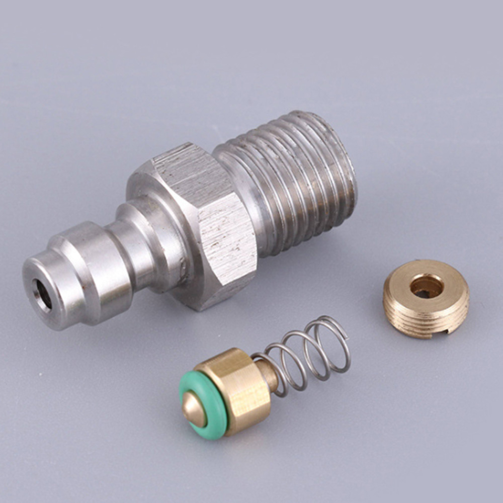 Dropship 8mm Male Connector for High Pressure Air Pump Connection Parts Air Pump Accessories