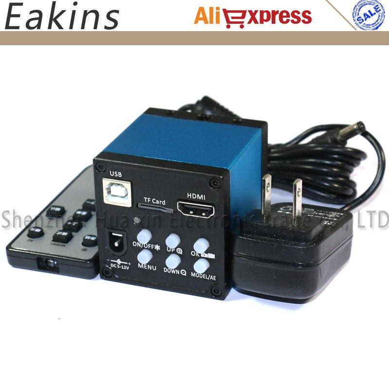 14MP HD HDMI USB Industrial Digital Microscope Camera TF Card Storage Support Photo Recording Video  цены