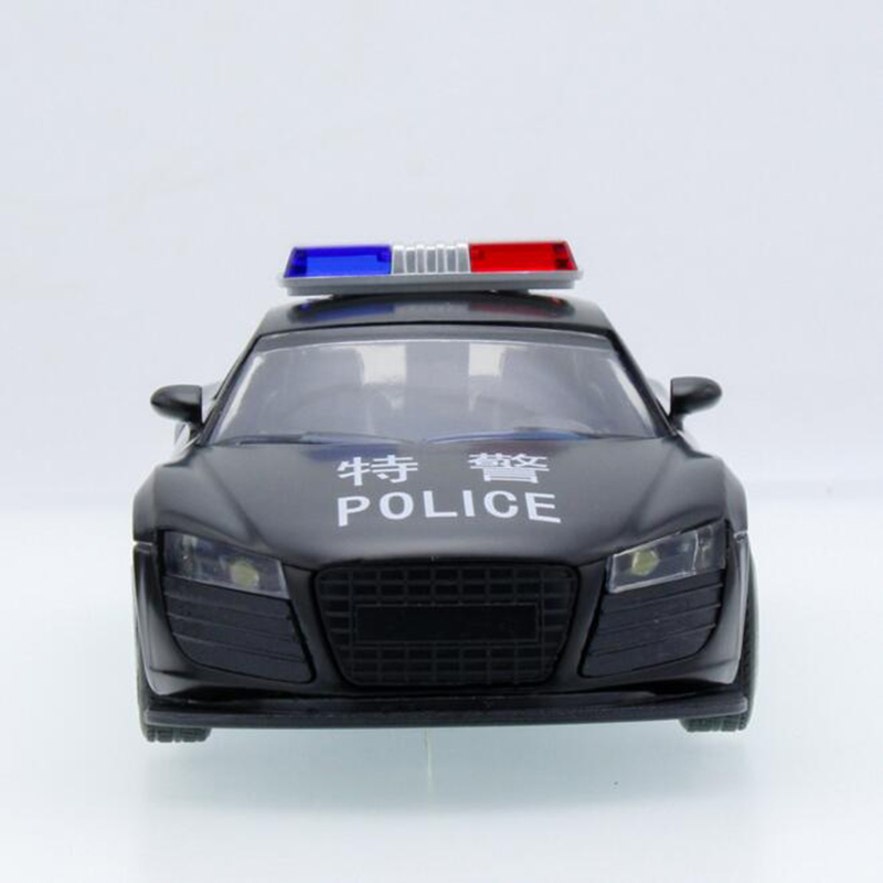 collectible alloy diecast white car model 132 simulation coupe police car 16c galibier w