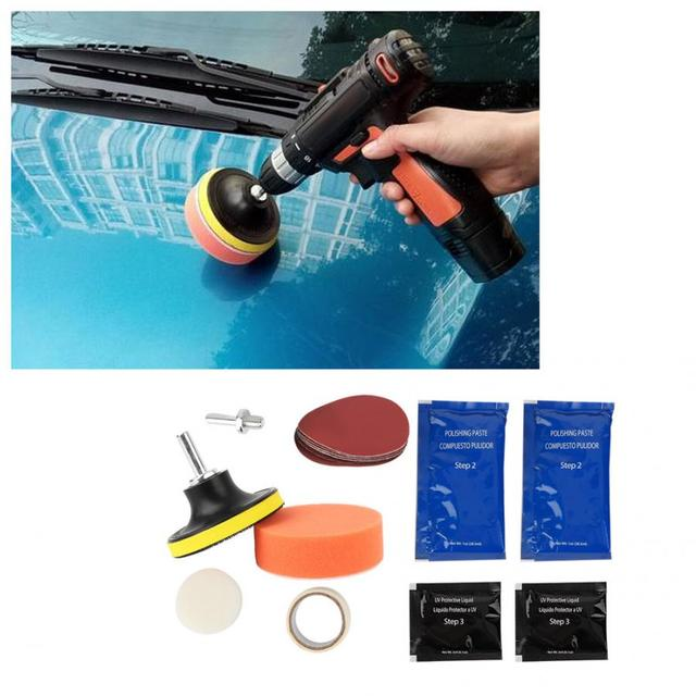 Car Headlight Polishing Kit
