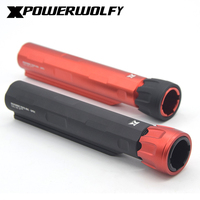 XP XPOWER Buttstock Stock Pipe For Airsoft AEG Hunting Accessories Free Shipping High Quality CNC Aluminium