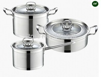 FREE SHIPPING CASSEROLE COOKWARE SET COOKING POTS 3 COMBINATION