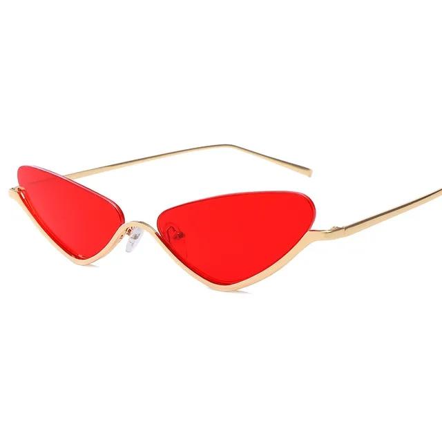 Half Frame Cat Fashion Sunglasses Women 2019 New Designer Luxury Brands Sunglass For Female Ladies Vintage Sun Glass with Box NX