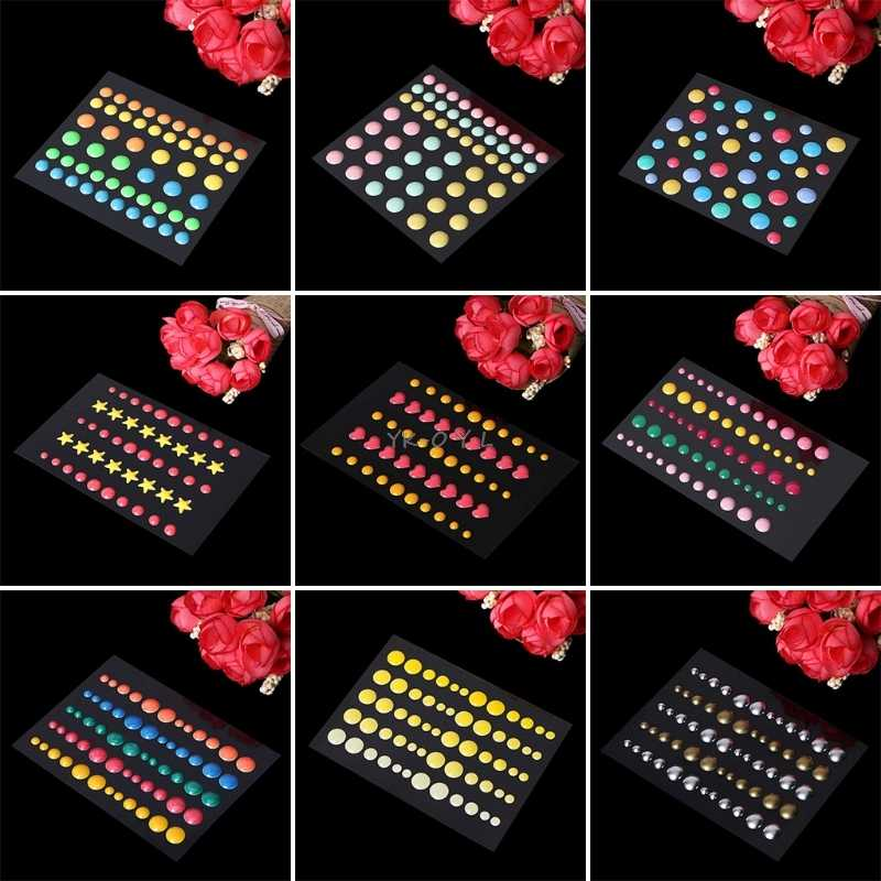 Enamel Dots Resin Selfadhesive Sticker for Scrapbooking DIY Crafts Sticky Scrapbooking Stickers Crafts Decor