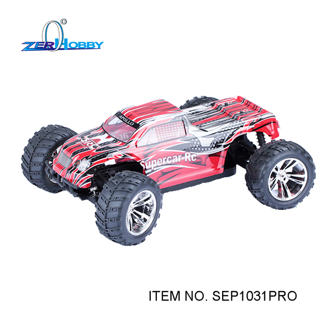 СУПЕРКАР ХОББИ RC АВТОМОБИЛЕЙ 1/10 EP ПРОФЕССИОНАЛЬНЫЙ 4WD OFF ROAD MONSTER TRUCK (пункт no. SEP1031PRO)