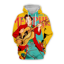 PLstar Cosmos Elvis Presley Guitar poster 3D Print Hoodie/Sweatshirt/Jacket/shirts Men Women Tees hip hop apparel