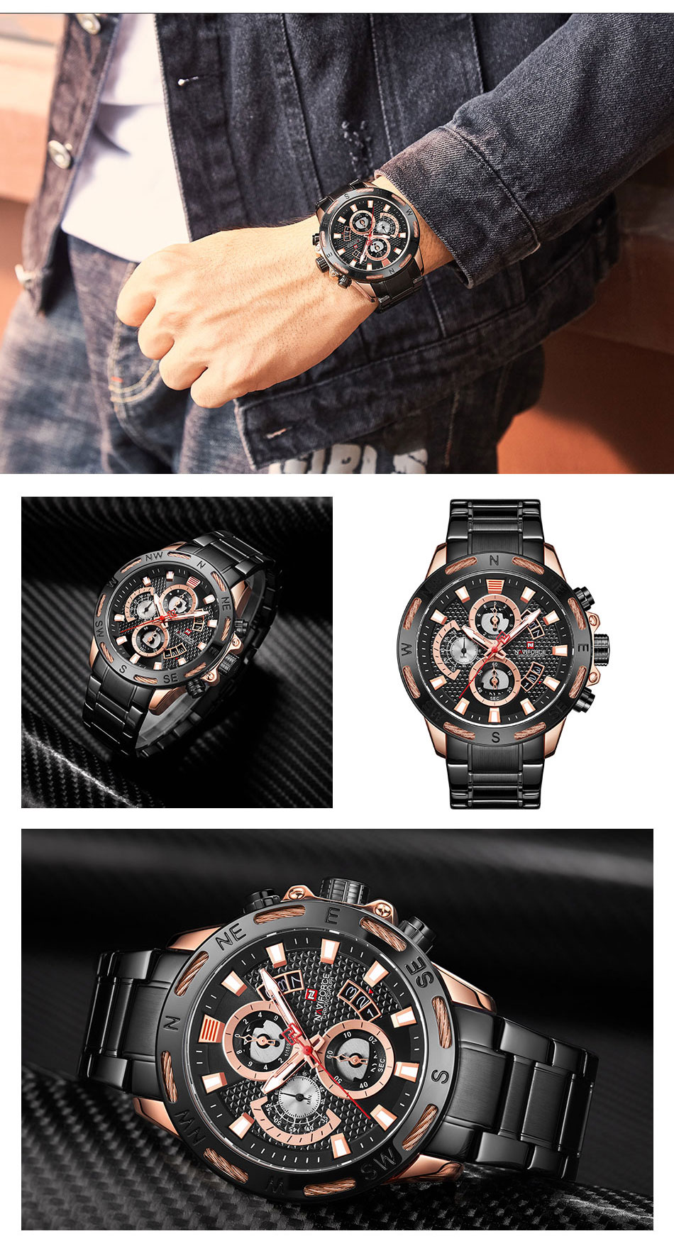 Branded Sports Watches - MiraShop