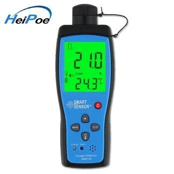 Portable O2 Air Detector AR8100 Alarm Oxygen concentration Measuring Instrument Meter