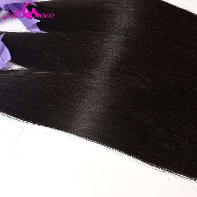 Brasilianisches gerades Haar Ali Coco Hair, das 100% - Menschenhaar (für Schwarz) - Foto 4