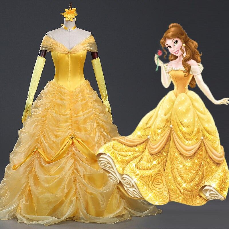 35d73584e ⃝بطل الماسك بريليانت الأصفر الأميرة اللباس الأميرة بيلا تأثيري حلي ...