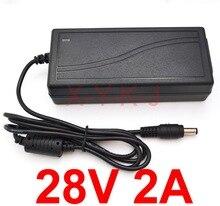 1 sztuk 28V 2A wysokiej jakości AC DC zasilacz impulsowy dla PMW280200 28V 2A OPI Studio lampa LED światła GL900 ładowarka