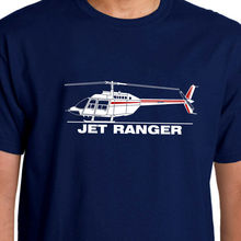 2018 Hot Sale 100% Cotton Aeroclassic Bell Jet Ranger T-Shirt Summer Style Tee Shirt