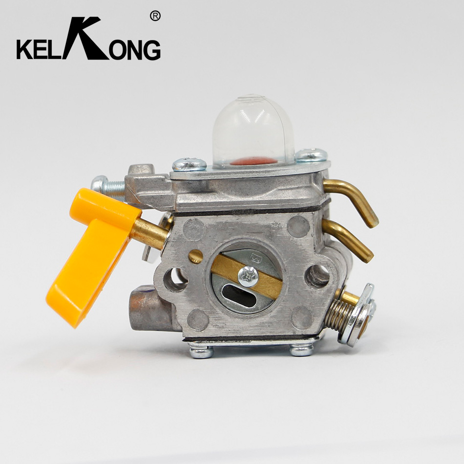 KELKONG New For walbro C1U-H60 Carburetor For Homelite Ryobi Poulan Trimmers Blowers 308054013 308054012 308054004 308054008 kelkong 5 carburetor primer bulbs fuel pump oem for chainsaws blowers trimmer homelite echo ryobi poulan parts