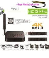 MINIX NEO X8 H Plus Android TV Box Quad Core 2GB 16GB HD 4K H 265