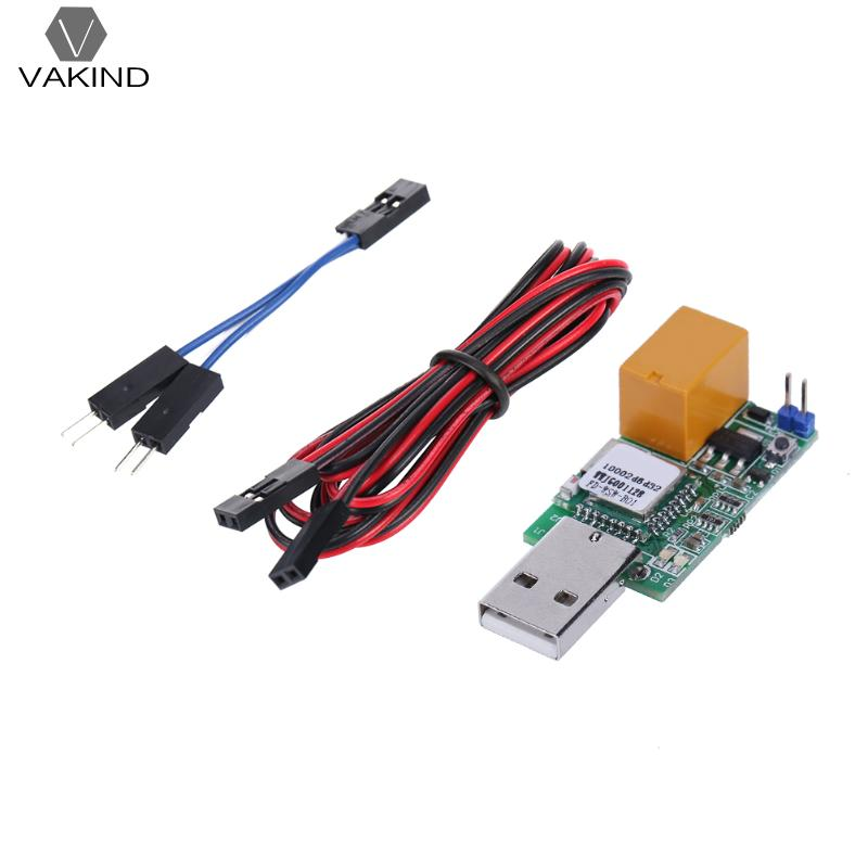 VAKIND USB Watchdog Card Module APP Romote Control Unattended Automatic Restart With LED Indicator For IOS