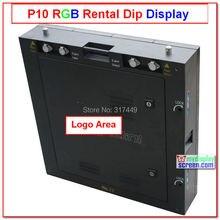 Легкий быстрый установить, высокой четкости цвет p10, 64 см * 64 см, синхронизации управления, дешевле прокат назн, p10 экран прокат открытый