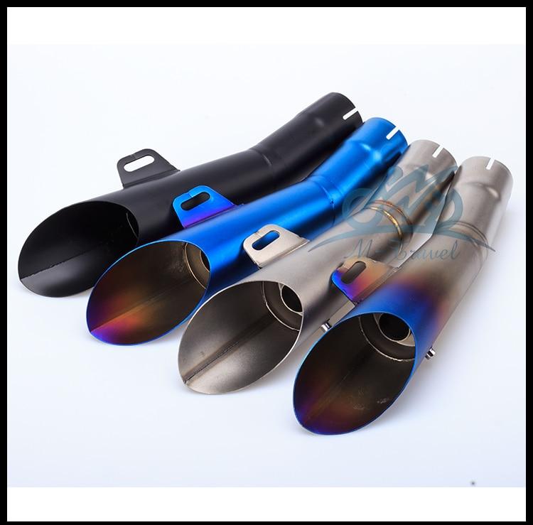 Moto in acciaio inox per gp hp tubo di scarico tubo di slip-on per r6 con db killer r6 silenziatore r6 tubo