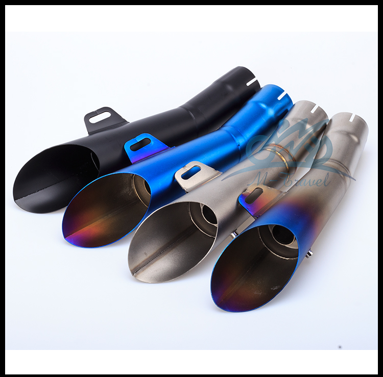 Motorcycle Stainless Steel for GP HP Exhaust Muffler Pipe Slip-On For R6 with DB killer R6 Muffler R6 pipe