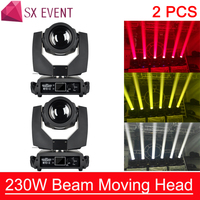 2pcs/lot 7R Beam Moving Head Sharpy lyre Beam 230W 7R Moving Head Light Touch Screen Beam 230 Beam 7R Stage Disco Lights