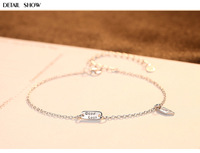S925 sterling silver bracelet small fresh girl jewelry silver jewelry