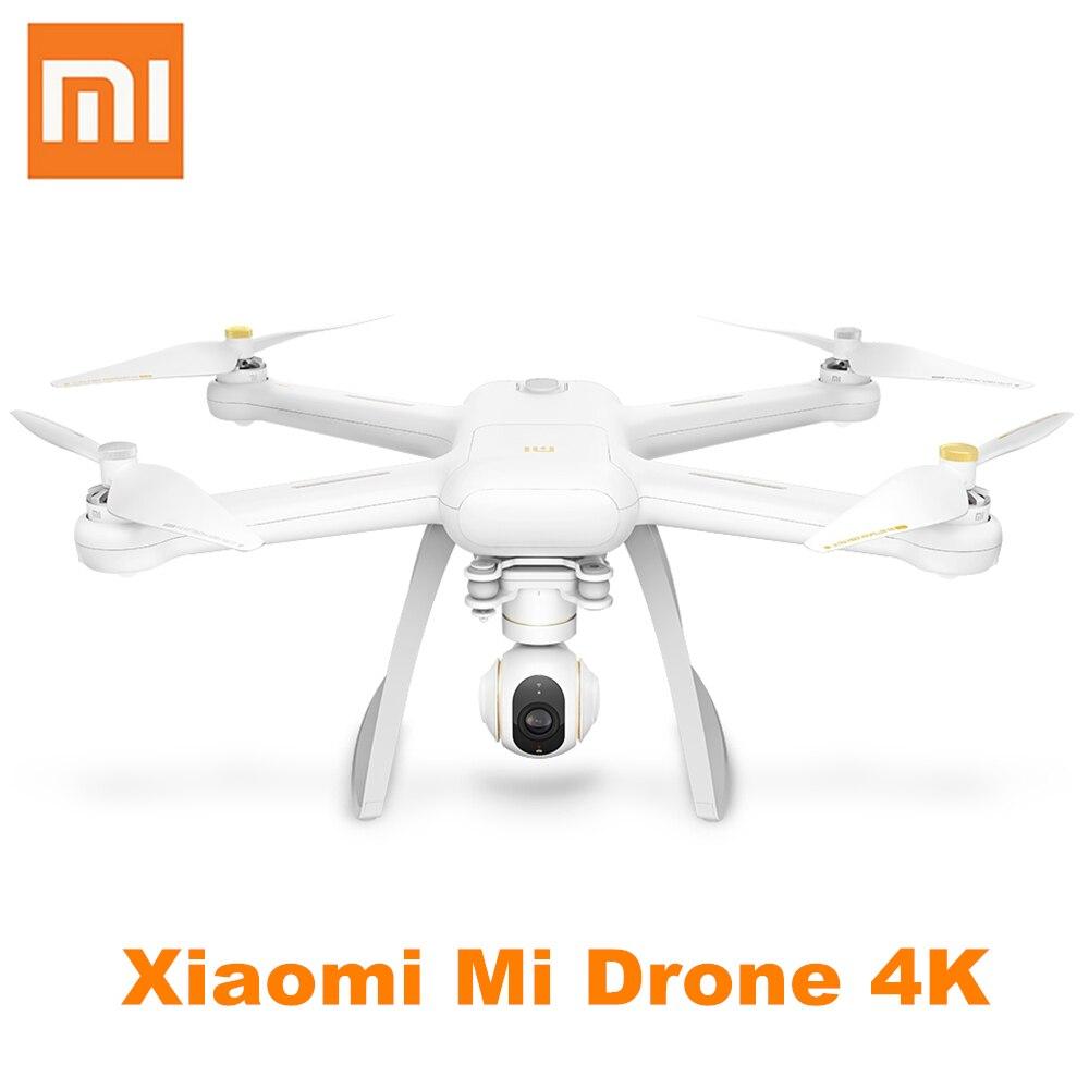 Xiaomi Mi Drone 4 К UHD Камера Wi-Fi FPV 5 ГГц Quadcopter 6 оси гироскопа 3840x2160 P 30fps коснитесь к полету 800 м удаленного Управление вертолет