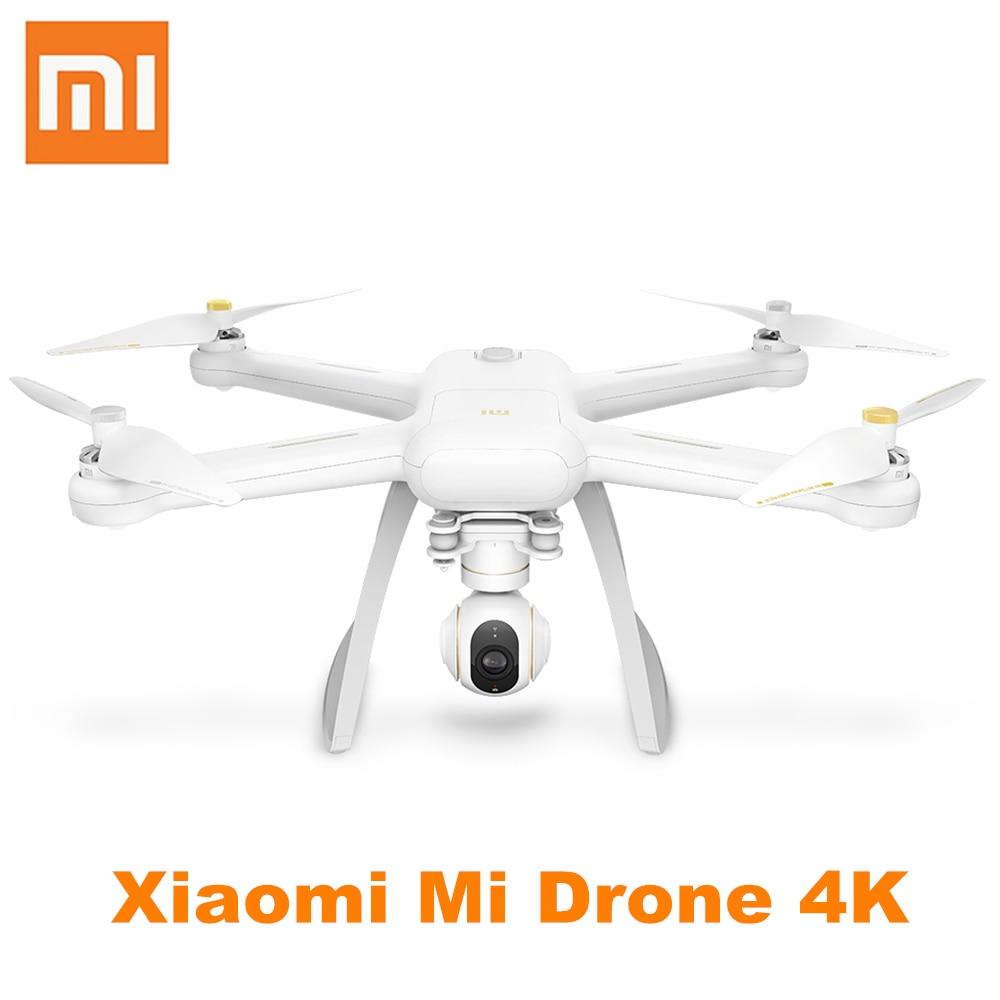 Xiaomi Mi Drone 4 к К UHD Камера Wi Fi FPV системы 5 ГГц Quadcopter 6 оси гироскопа P 2160x3840 P 30fps коснитесь к Fly 800 м Дистанционное управление вертолет