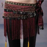 2015 Hot Selling Cheap Women Tribal Belly Dance Hip Scarves Belly Dancing Waist Belts On Sale