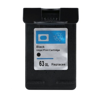黒インクカートリッジ 63 XL デスクジェット 2130 カートリッジ 1110 3635 3632 3630 OfficeJe 3830 4650 4655 プリンタ用 63XL 非 Oem