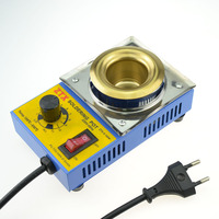 Free Shipping High Quality 150W Temperature Controlled Soldering Pot Melting Tin Pot Tin Cans With EU