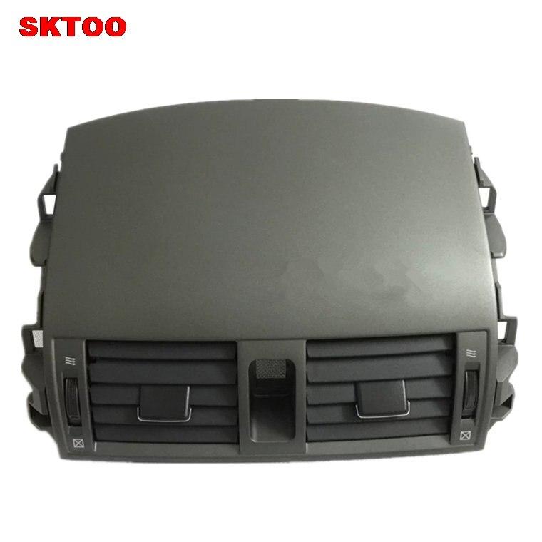 Sktoo peças de carro centro instrumento ar condicionado saída painel ventilação bocal de ar para toyota camry 2007 2013 modelos - 2