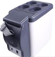 6l car use only cooler and warmer portable 12V portable car fridge travel use