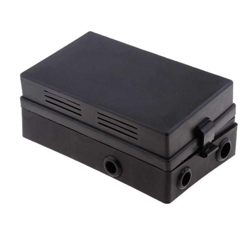 Черный Авто автомобильная 18 способ предохранитель реле Box держатель Блок цепи протектор терминалы Автомобильная запчасть часть 19,5x12x4,5 см