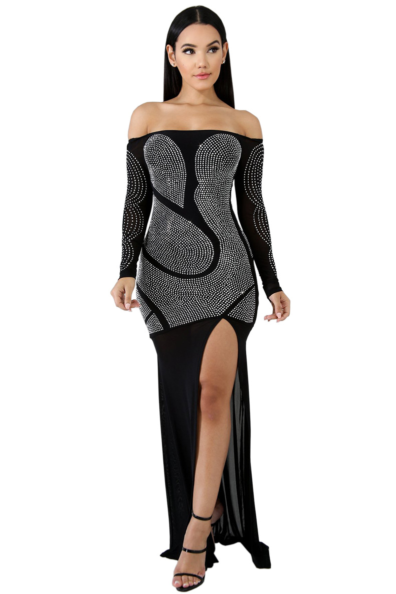 6577c60e07a Diamants-Maille-Patchwork-de-Split-Side-Parole-Longueur-Robe -2019-Spring-Party-Femme-Slash-Cou-Hors.jpg