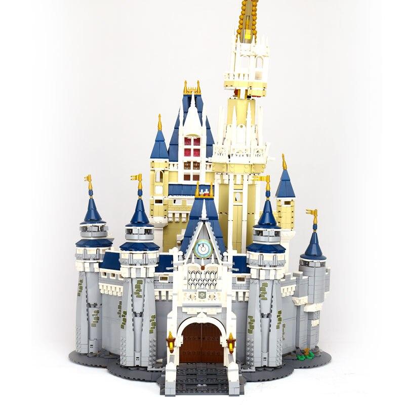 LEPIN 16008 Créateur Cendrillon Prinzessin Schloss Stadt stucke Modell Baustein Kinder Spielzeug Kompatibel legoinglys 71040 Jouets